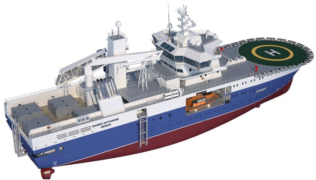 Damen Builds Next Generation Of Offshore Service Vessels