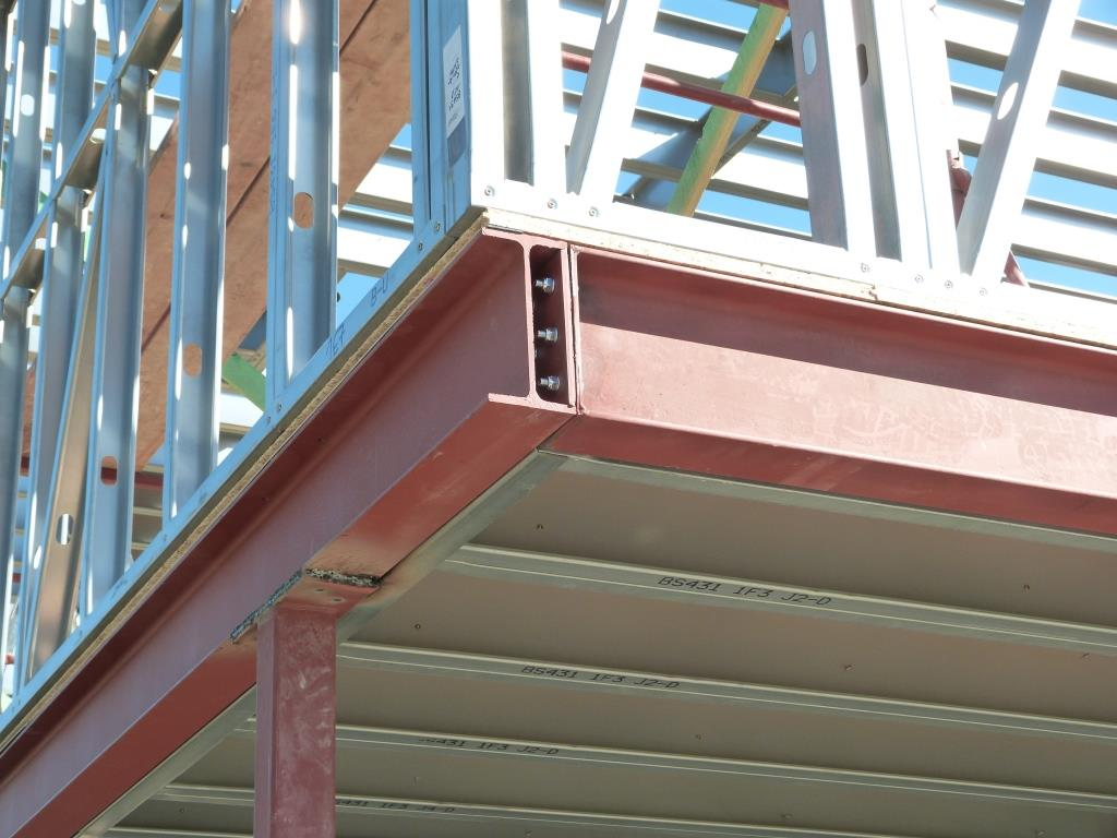 Individual Components Are Bolted Together To Form A Rigid Structure. The Steel  Frame ...